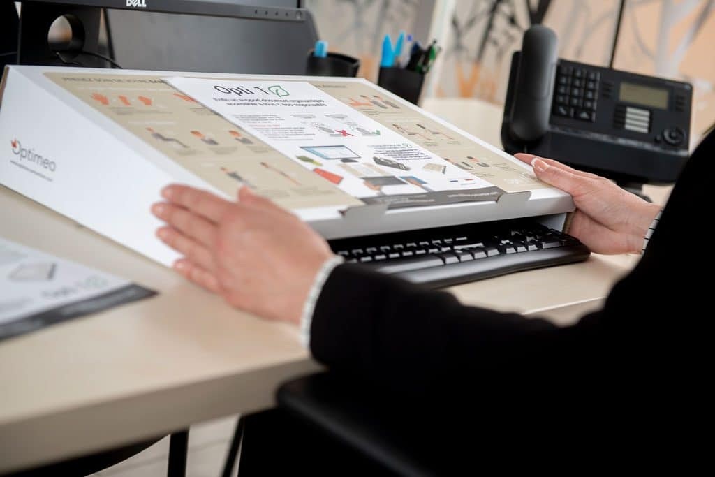 opti-1 ranger clavier pour écrire