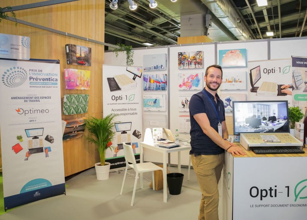 Opti-1 au salon Preventica Paris