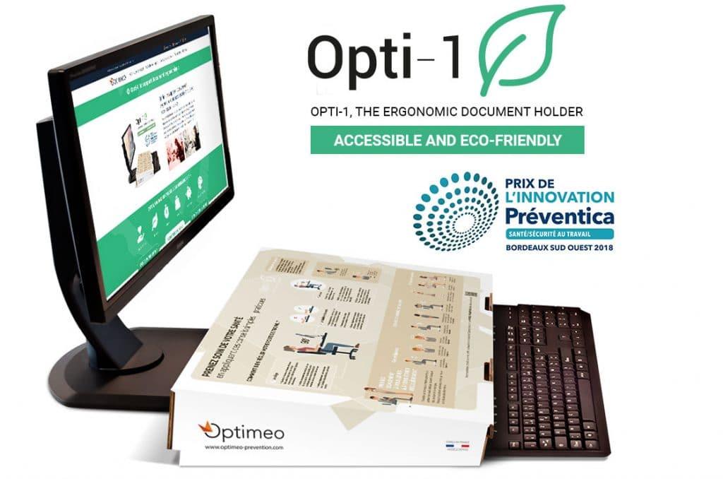 Optimeo Winner of the Preventica Innovation Prize in 2018