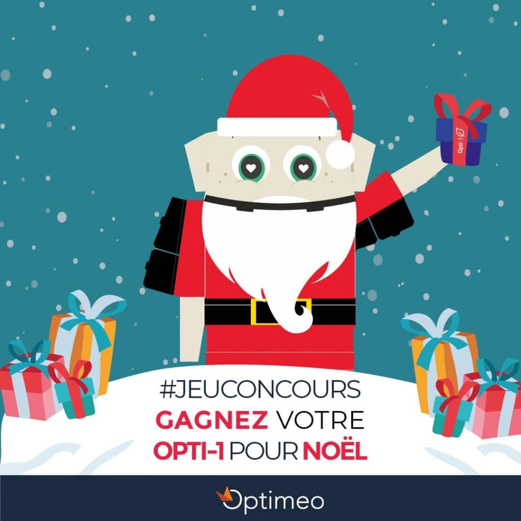 Jeu concours Noël Optimeo