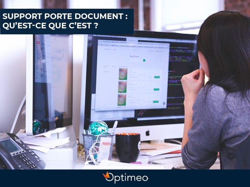 blog support porte document optimeo