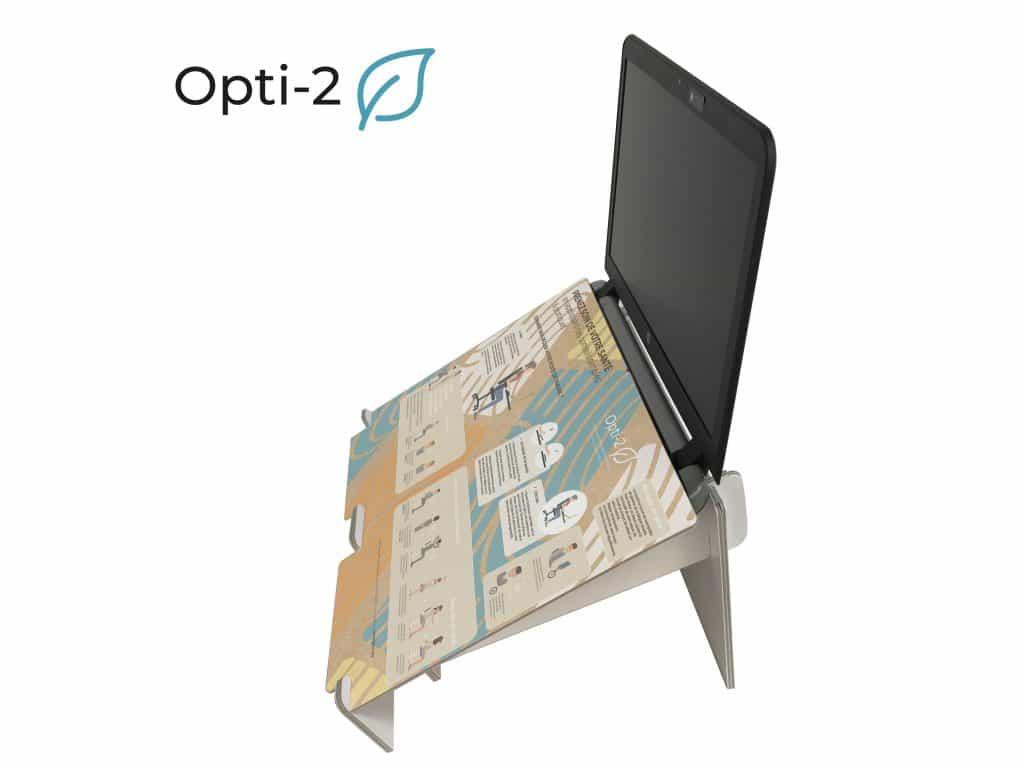Opti-2 réhausseur pour ordinateur portable